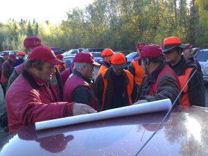Planering av jakten 2006